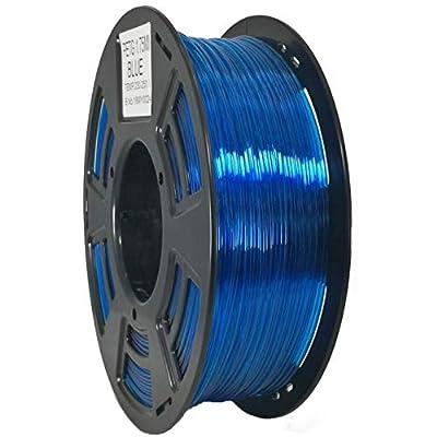 Stronghero3D 3D Printing PETG Filament Blue 1.75mm Net Weight 1KG Accuracy +/-0.05mm