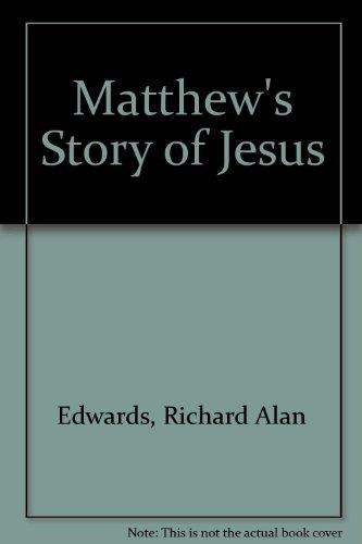Matthew's Story of Jesus