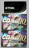 type 2 tape - TDK CD Power 110 Cassette, 2pk High Bias Audio Cassette Tapes