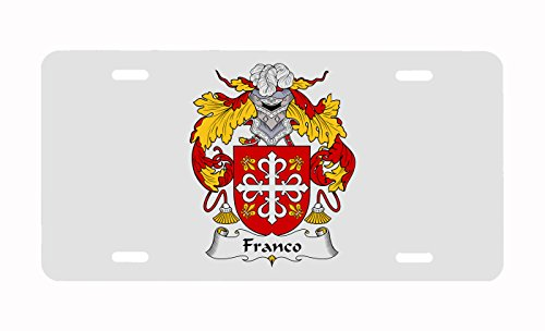 Franco Coat Of Arms Franco Family Crest Spanish Coat