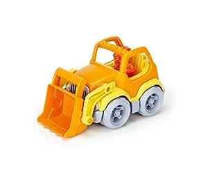 "Green Toys Scooper Construction Truck, Yellow/Orange, 7.5"" x 4.5"" x 4.5"""