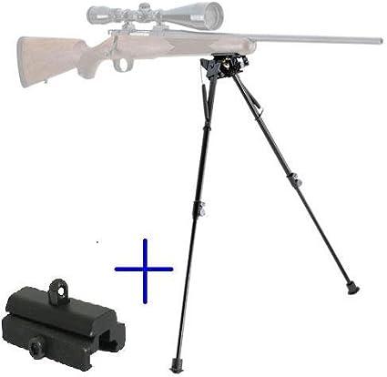 Tactical Rifle Bipod Optics 13-23 inch Foldable Handy Spring Return Sniper