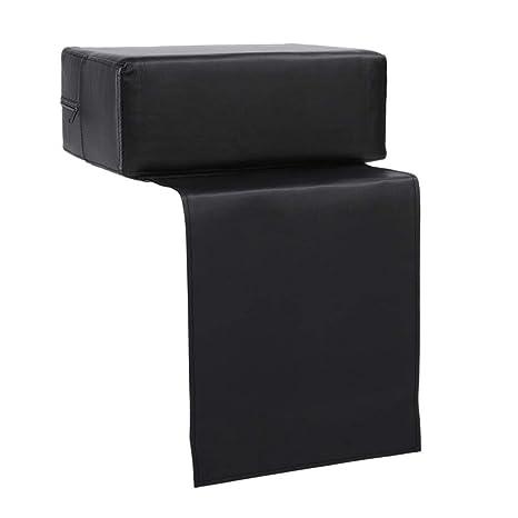 Amazon.com: Rainrain27 - Silla de piel negra para salón de ...