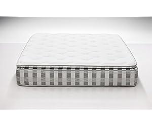 Dreamfoam Bedding Ultimate Dreams Crazy Quilt Pillow Top Mattress