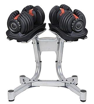 Soporte para mancuernas de pesos diversos con carga de hasta 100 kg: Amazon.es: Deportes y aire libre