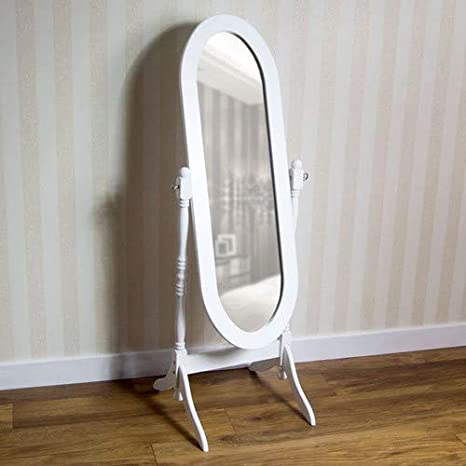 Home Discount Miroir sur Pied Nishano Cheval - Miroir réglable ...