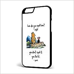 Walt Disney Vintage Winnie The Pooh Piglet Spell Love Quote Iphone