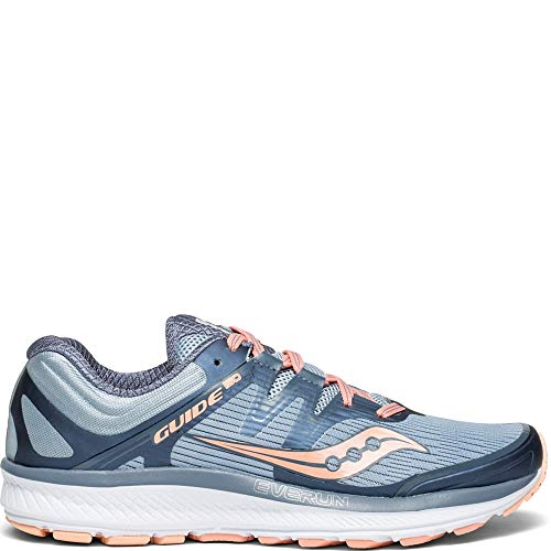 Saucony Guide ISO Women 9.5 Slate | Peach
