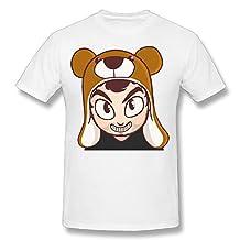 Guiwan Men's Cinnamontoastken Ken T-shirt