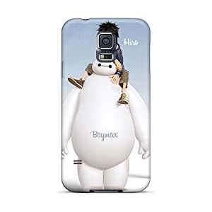 Scratch Protection Hard Phone Cases For Samsung Galaxy S5 With Customized HD Big Hero 6 Pattern AlissaDubois