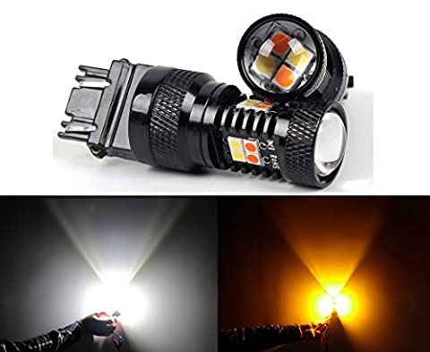 LED import USA 3030 SMD White/Yellow 3157 3155 3457 4157 Switchback LED Bulbs For Turn Signal Lights