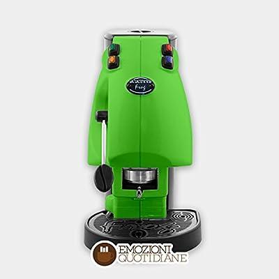 Machine à café à dosettes en Papier ese 44mm Diesse Frog couleur vert clair