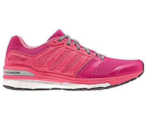 adidas - Zapatillas de running de Material Sintético para mujer Rojo rojo