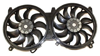 TYC 622150 Nissan Maxima Replacement Radiator/Condenser Cooling Fan Assembly ()