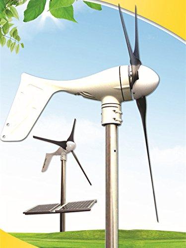 Gowe netzferne 400W Windkraftanlage + MPPT Controller + 500W reiner Sinus Wechselrichter
