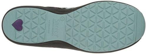 Sanita Womens O2 Lite-tranquility Walking Shoe Grigio / Nero