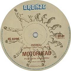 """Motorhead Overkill UK 12"""" vinyl"""