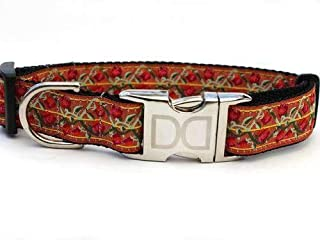 product image for Bombay Custom Dog Collar (Optional Matching Leash Available) XS/S