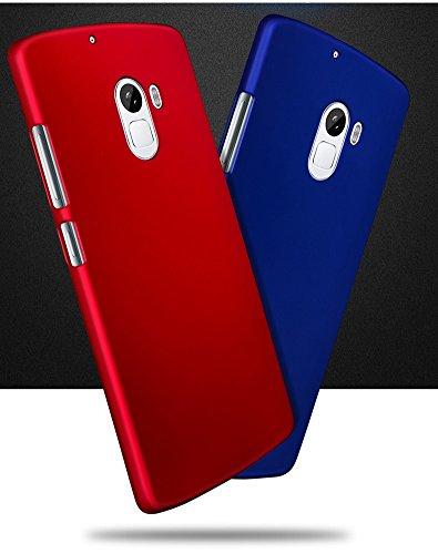 buy online c97de d3701 Wow Imagine Rubberised Matte Hard Case Back Cover For Lenovo K4 Note - Uber  Blue