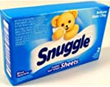 Snuggle Fabric Softener Sheets Case Pack 100 , Automotive, tool & industrial , Office maintenance, janitorial & lunchroom , Cleaning supplies , Laundry detergent