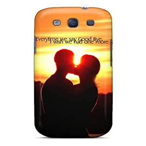 New Fashionable DustinHVance VCwIGwe2374GWFio Cover Case Specially Made For Galaxy S3(kiss)