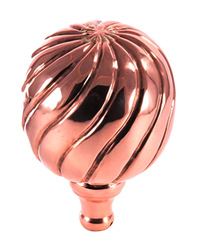 Polished Copper Finial (Dalvento Large Parisian Finial- Copper Polished)