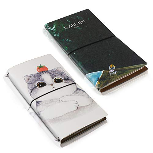 SynLiZy A5 PU Leather Personal Organizer Undated Planner (A5 Gray) 7.36' x 9.44'(Paper Size 5.5'x 8.3')