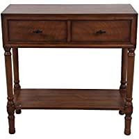 Privilege 28417 2 Draw Console Honeynut Table