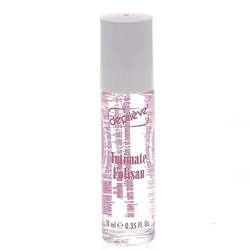 Depileve Intimate Folisan Gel Roll-On, Intimpflege, gegen Pusteln, Pickel, eingewachsene Haare, 10ml, 1 Stück