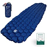EcoTek Outdoors Hybern8 Ultralight Inflatable Sleeping Pad for Hiking Backpacking and Camping