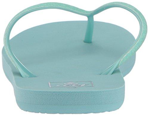 Reef Tea us Stargazer Little Turquoise teal Fille Flip flop 7gq7wfr
