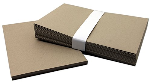 Do It Yourself Birthday Invitations (Brown Kraft DIY Blank Invitations With Envelopes 25 Pack)