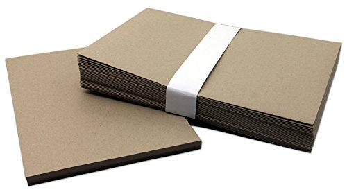 Brown Kraft DIY Blank Invitations With Envelopes 25 -