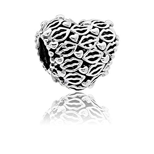 Pandora Love and Kisses Silver Charm