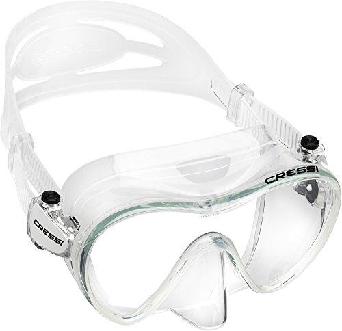 Cressi F1 Frameless Mask, Clear