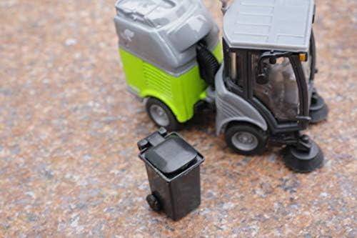 SIKU Super Barredora AA28:AM41 con contenedor, Color Gris/Verde (2936): Amazon.es: Juguetes y juegos