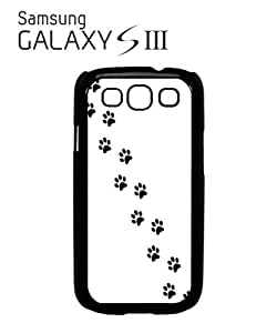 Cat Paw Kitten Meow Mobile Cell Phone Case Samsung Galaxy S3 Black