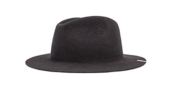 8d153cf21a189 Brixton Mojave Fedora Washed Black