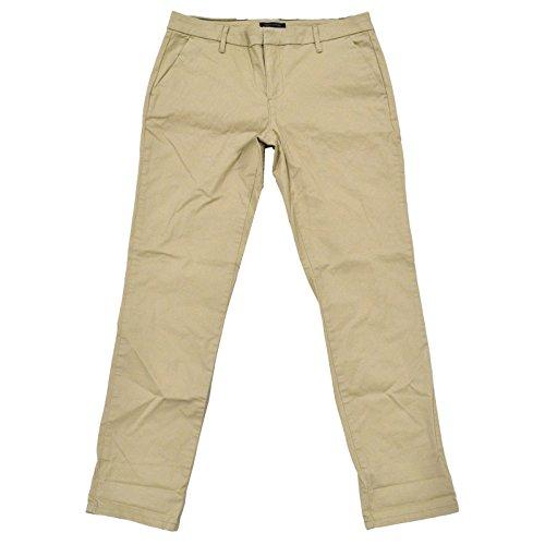 Embroidered Khaki Pants (Tommy Hilfiger Womens Hampton Slim Fit Stretch Chino Pants (16, Travel Khaki))
