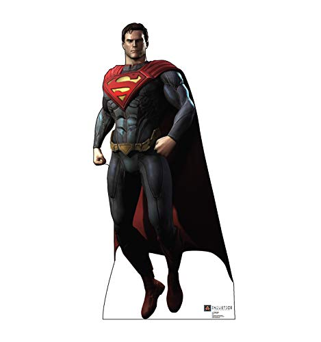 Advanced Graphics Superman Life Size Cardboard Cutout Standup - DC Comics Injustice: Gods Among -