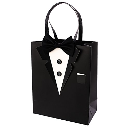 Crisky-Classic-Black-Tuxedo-Gift-Bags-for-Groomsman-Fathers-Birthday-Anniversary-Wedding-Favor-Bags-10x8x4-set-of-6