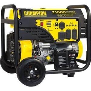 Champion 100110 9200W/11500W Generator 459cc w/Wheel Kit