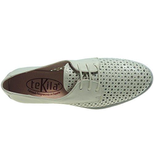 Color 3 4255 Cuña TEKILA 5 HIELO Comodón Goma Hueso Cm Zapato Modelo Bwfx46qxU