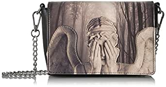 Loungefly womens DRWTB0008 Dw Weeping Angel Bag grey Size: One Size