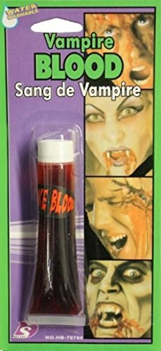 VAMPIRE FAKE BLOOD FOR HALLOWEEN FANCY DRESS 28.3G TUBE by B&S -