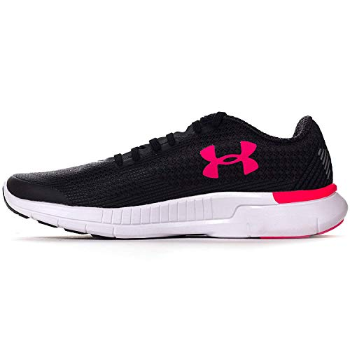 Women's Rose Under Shoe Grey Running Armour Black Charged Lightning 5OZS4Wfq