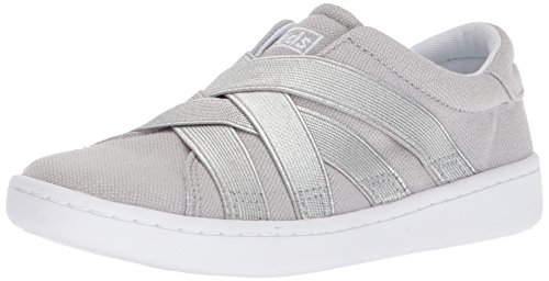 Keds Girls' Ace Gore Sneaker, Grey, 4.5 Medium US Big Kid