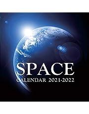 Space Calendar 2021-2022: January 2021-February 2022, Science Fiction Calendar