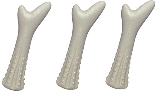 Petstages (3 Pack) Deerhorn Long Lasting Antler Chew, Medium