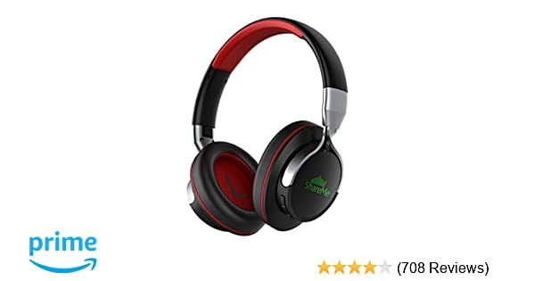 f962b247700 Amazon.com: Mixcder ShareMe 7 Bluetooth Headphones, Wireless Headphones  Over Ear with Shareme Function and Mic, Cozy Wireless Headset with Improved  Bass ...